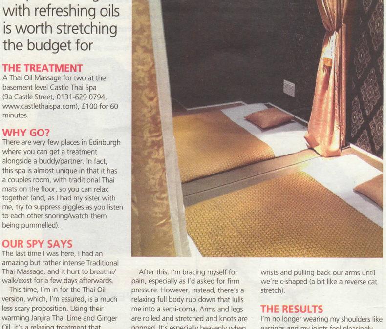 Scotsman Review 1 Aug 2015